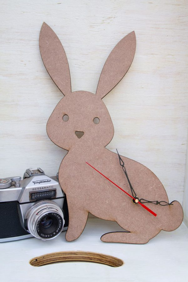 bunny kids wall clock 2