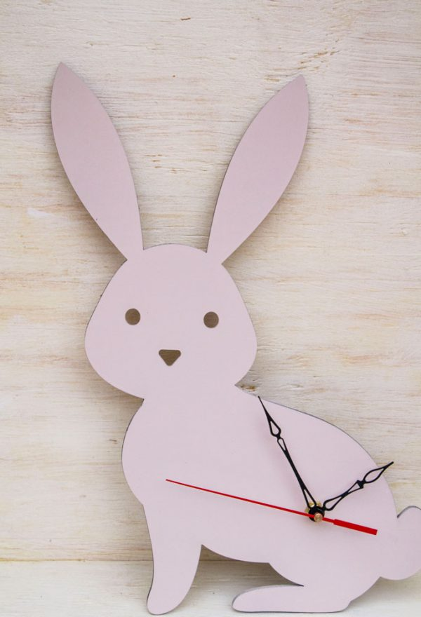 bunny kids wall clock 1